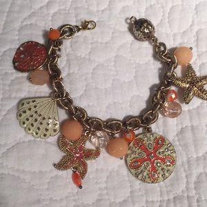 """Chico's"" Seashell Charm Bracelet!"